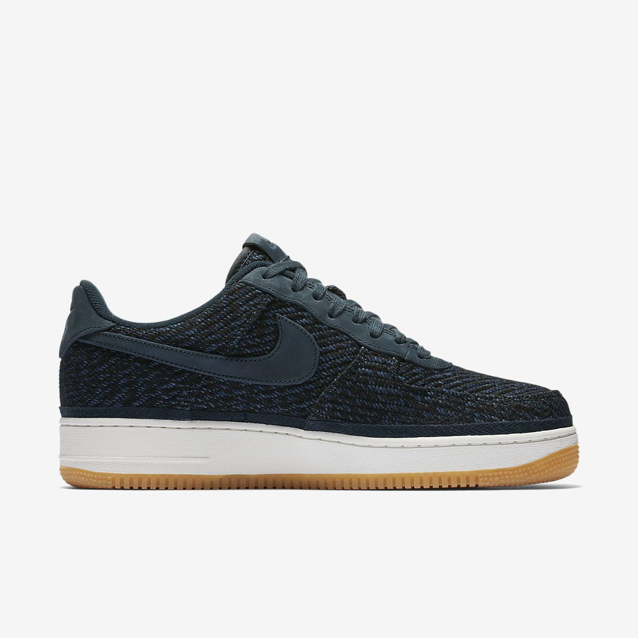new style e8069 e1df2 Nike Indigo Homme  07 pour Force Air Chaussure 1 HBazdHS