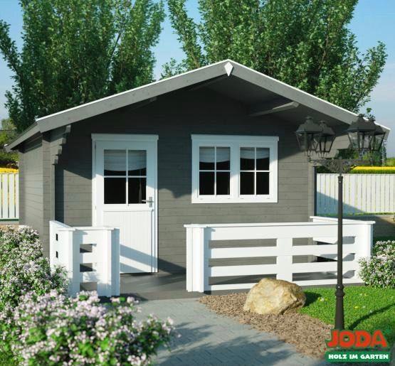 Gartenhaus aus Blockbohlen Solide aus nordischer Fichte