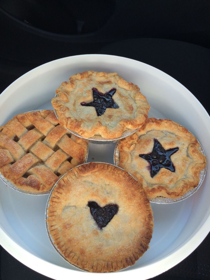 New and Approved Mini Pies
