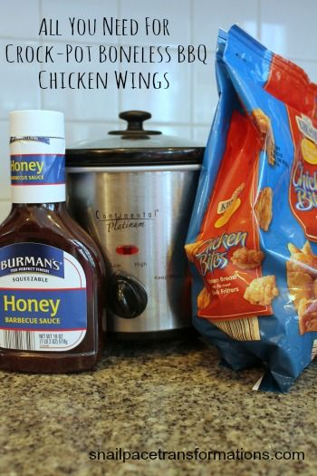 All You Need For Crock Pot Boneless BBQ Chicken Wings