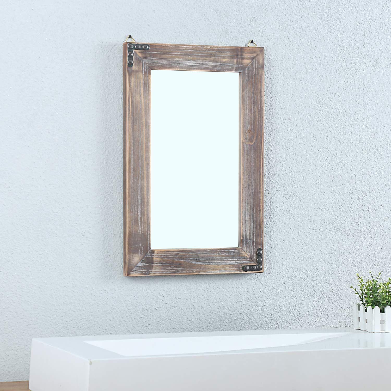 Farmhouse Mirrors Rustic Mirrors Farmhouse Goals In 2020 Rustic Bathroom Mirrors Decorative Bathroom Mirrors Mirror Wall Decor