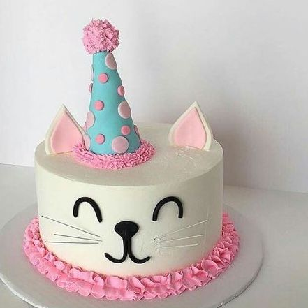 Cool Pin By Aaron On Birthday Cake Birthday Cake For Cat Cat Cake Funny Birthday Cards Online Necthendildamsfinfo
