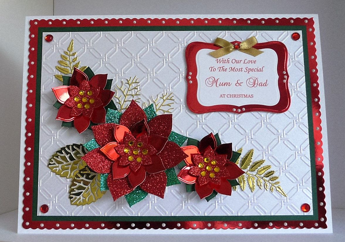 Christmas Card Handmade for Wife/Husband/Girlfriend