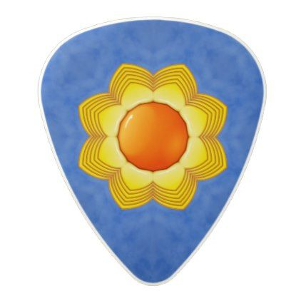 Sunny Day Vintage Kaleidoscope  Guitar Picks - home decor design art diy cyo custom