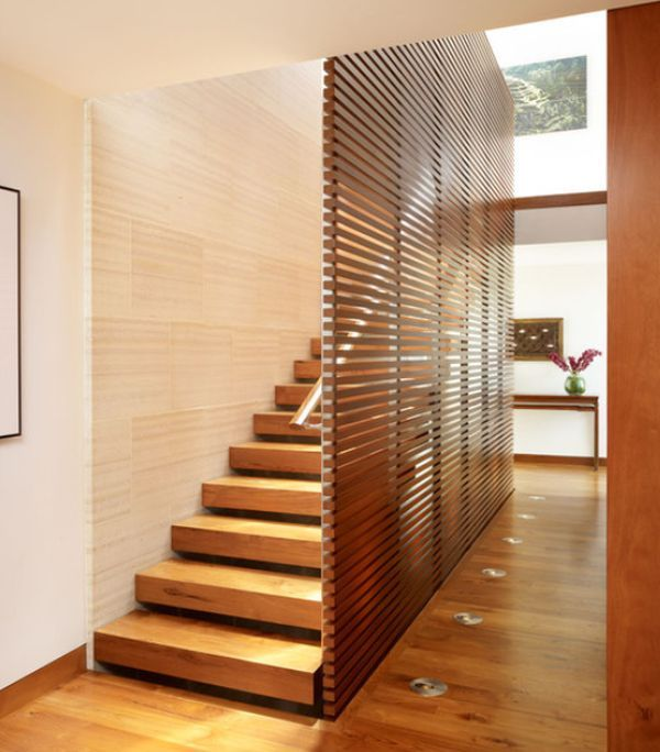 10 Simple Elegant And Diverse Wooden Staircase Design Ideas