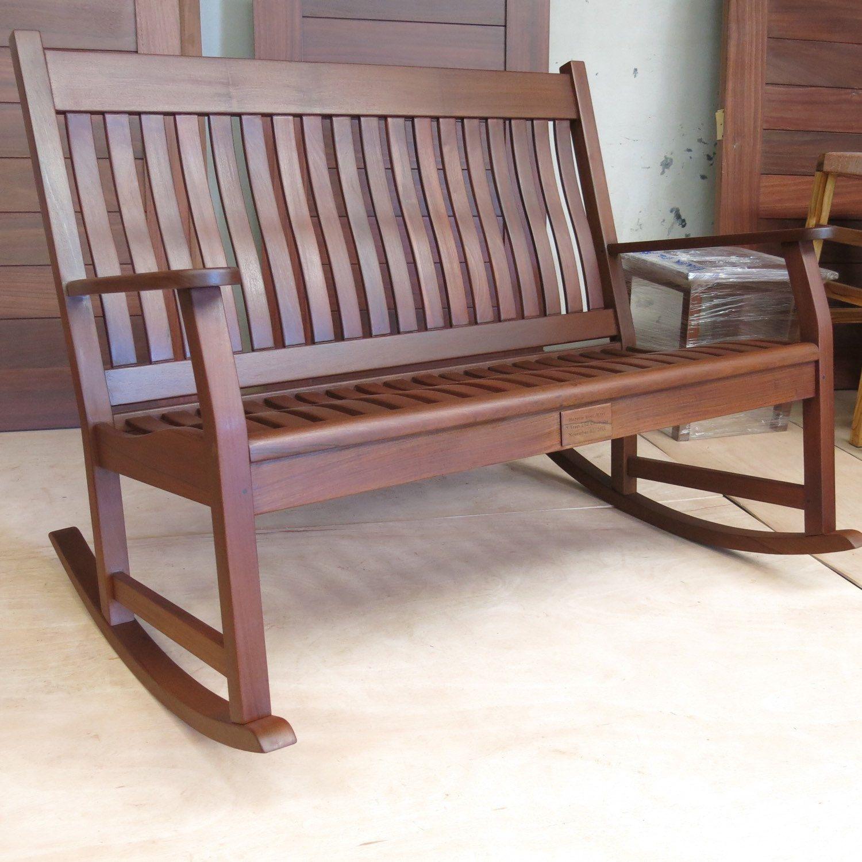 Beautiful rosita walnut swing bench outdoor furniture pinterest