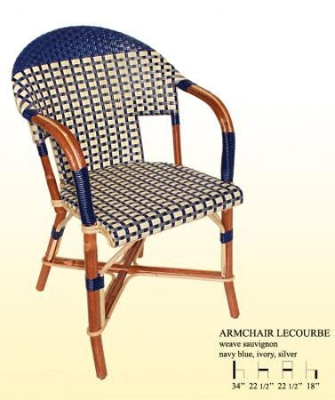 Maison Gatti French cafe chairs as seen on Style Court | Outdoor ...