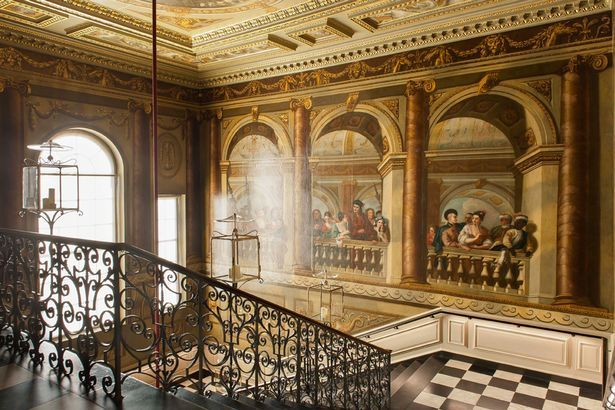 Pictured inside kate and william 39 s kensington palace home for Interno kensington palace