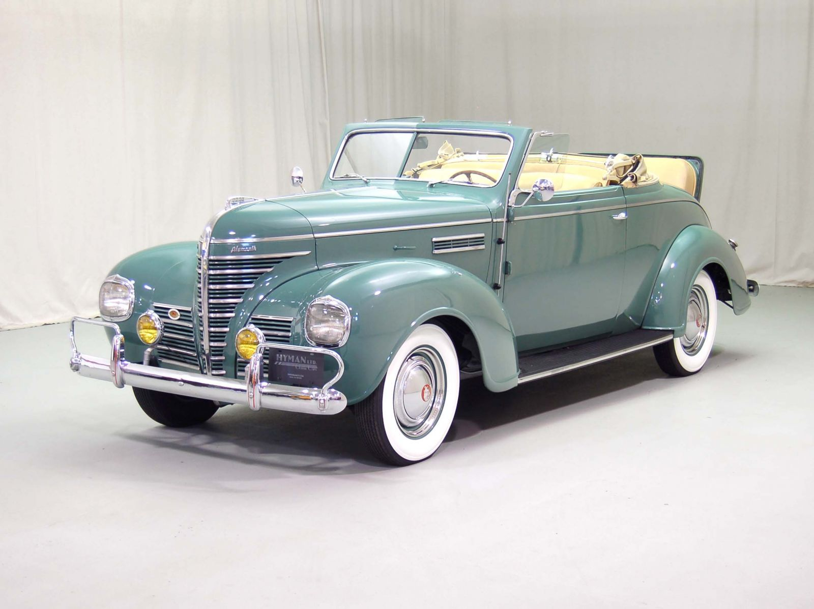 1939 Plymouth P8 Deluxe Convertible | Hyman Ltd. Classic Cars..Re ...
