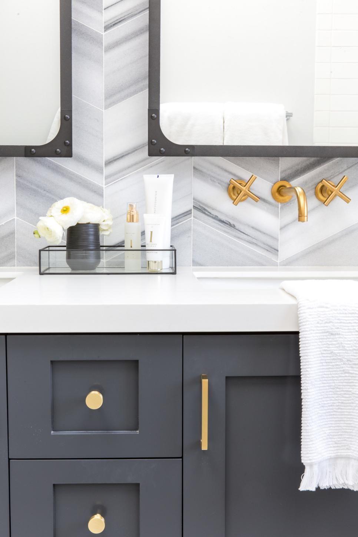 The 15 Best Diy Bathroom Projects Diy Grey Bathroom Vanity