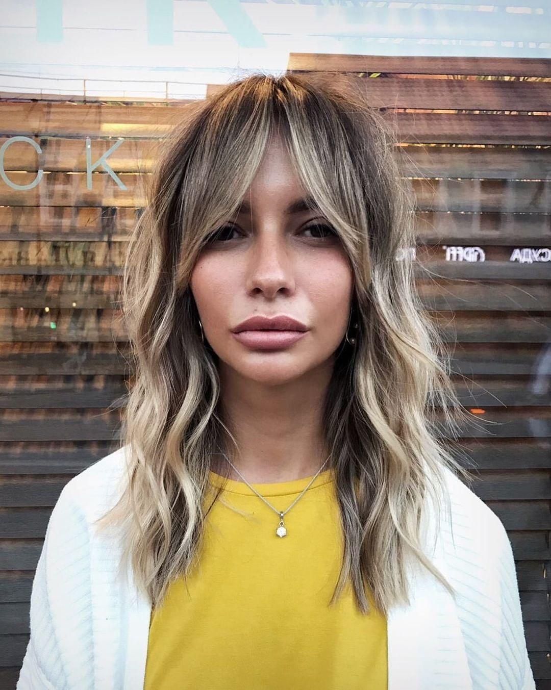 "American Salon on Instagram: ""curtain fringe cutie �@stebunovhair • • • #hairgoals #hairdressermagic #salonlife #hairtrends #hairdresser #haireducation #hairoftheday…"""