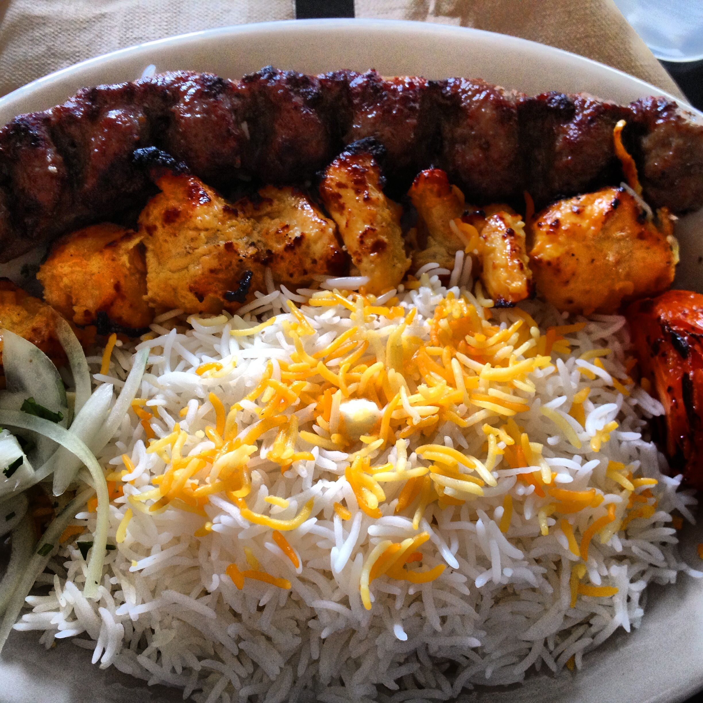 Kabob Chicken Groundbeef Rice Persian Koobideh Persianfood Joojeh Persian Food Food Ground Beef