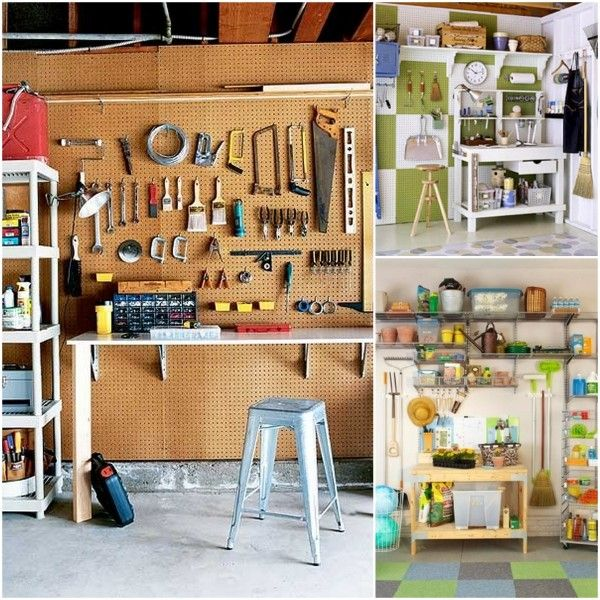 Garage organization organization pinterest ideas for Garajes bien organizados