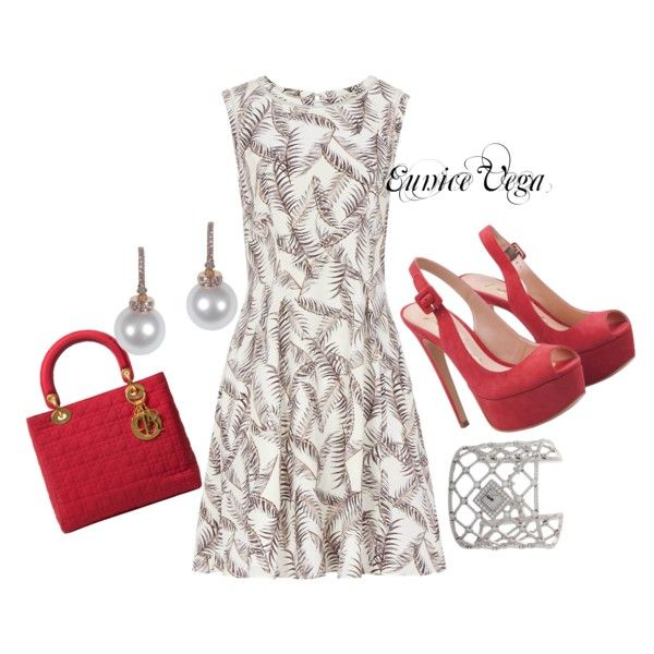 """I love Red"" by eunice-perez-de-vega on Polyvore"