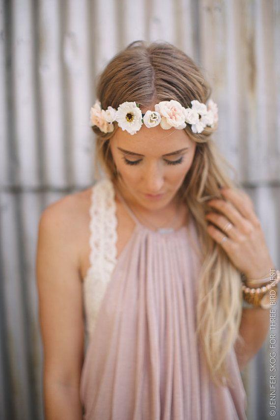 0ff4940c765 Romantic Floral BOHO Head Piece