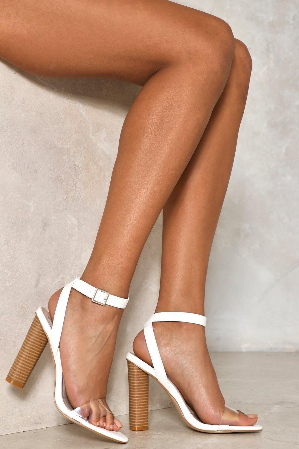 7d210add880 Clear It Up Heel   Shop Clothes at Nasty Gal   [happy feet]   Zapatos