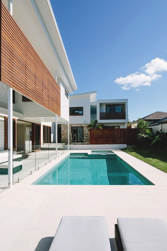 Byron bay beach house by davis architects modern home design exterior contemporary