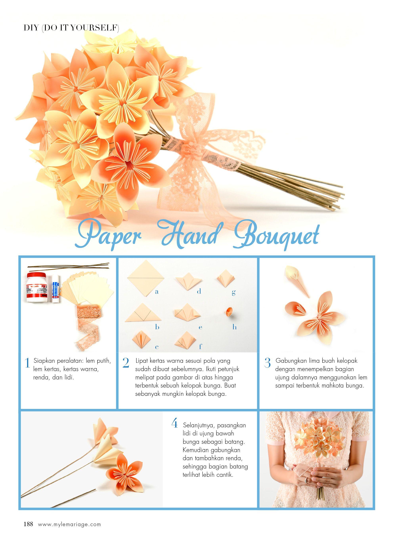 Paper Hand Bouquet Satu Divisi LeMariage Wedding