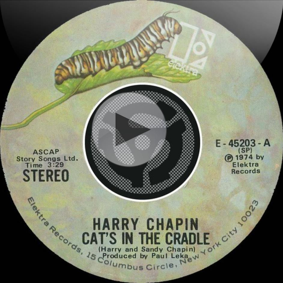 Listen To Cats In The Cradle By Harry Chapin From The Album Cat S In The Cradle Vacancy Digital 45 On Spotify Thanks To Pinstamatic Http Cats Cradle