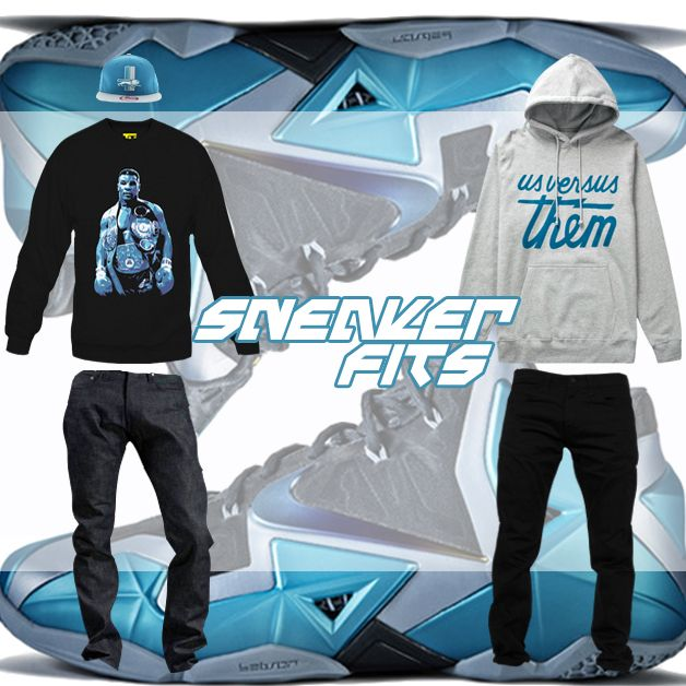 """What To Wear With The Nike Lebron 11 """"Gamma Blue ..."""
