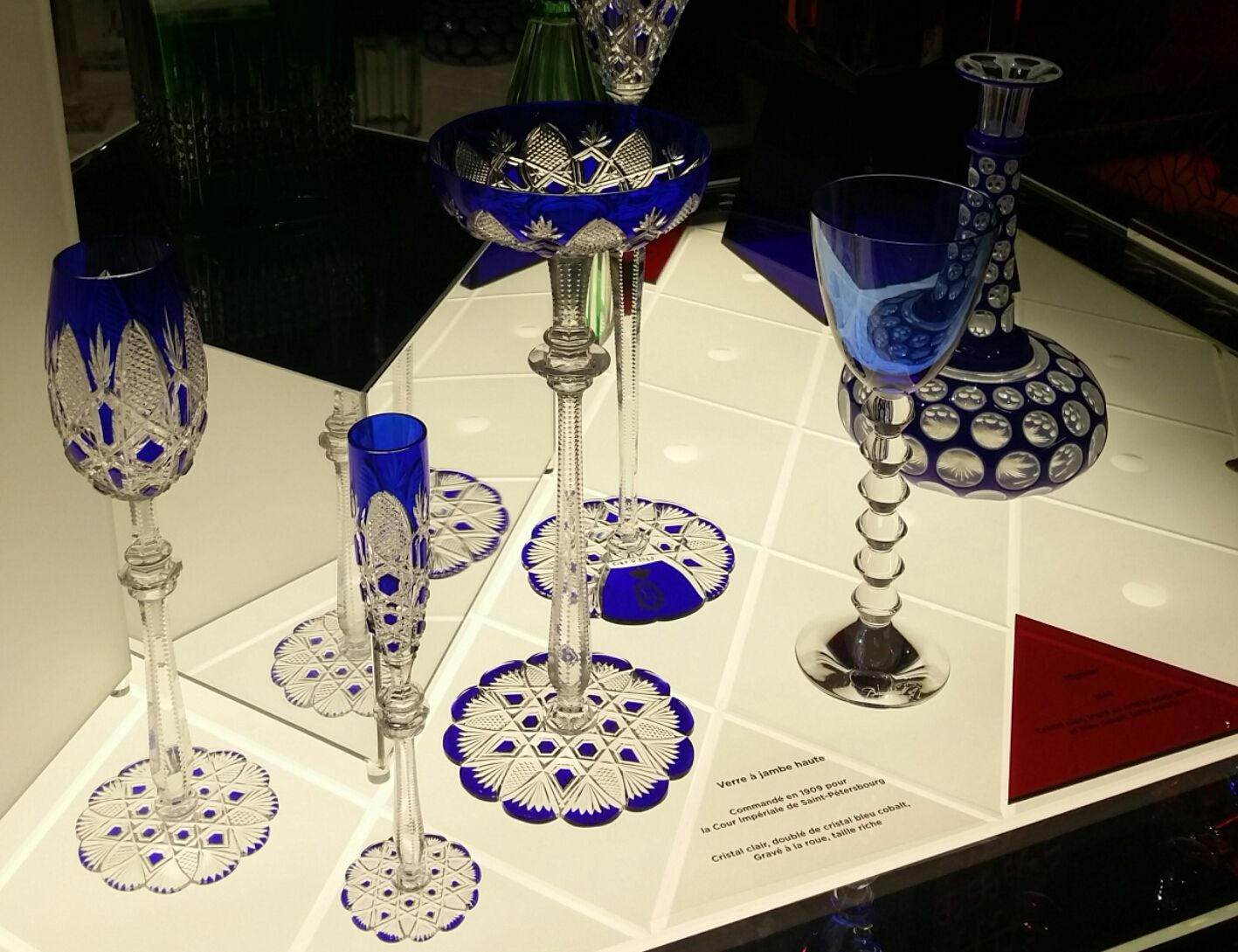 Cristallerie Baccarat Visite