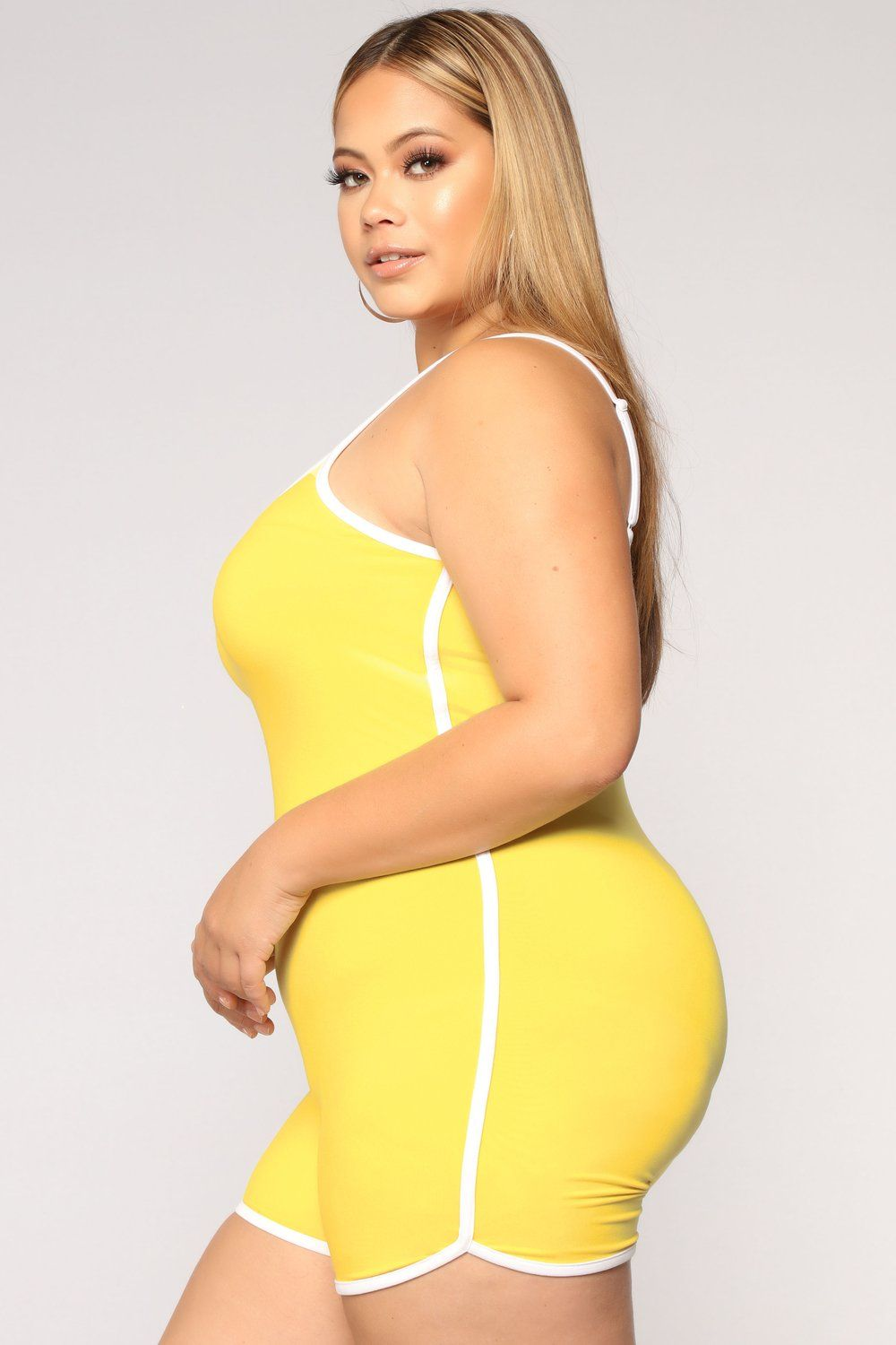 46c6bd43e41d Go The Extra Mile Active Romper - Yellow in 2018