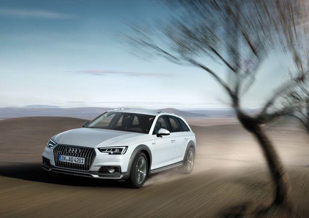 Audi er klar med sin nye A4 allroad quattro, der fortsætter, selvom asfalten stopper | Bilmagasinet.dk