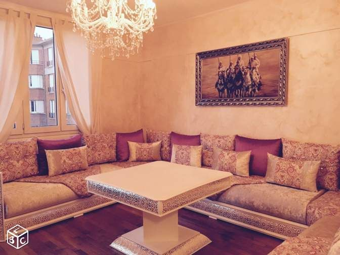 Salon marocain à prix discount | Ideas for the House | Living room ...