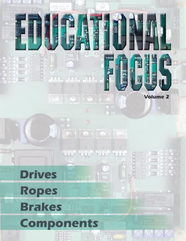 This newly-released volume compiles 20 ELEVATOR WORLD articles from our Educational Focus Series published from 2008 to 2013. A few of the selected technical topics focus on drives, ropes, brakes and components. Each chapter comes with learning reinforcement questions and a tutorial where certain points within the article are elaborated or clarified to assist in the readers' understanding of the content more thoroughly. #education #elevatored #continuingeducation