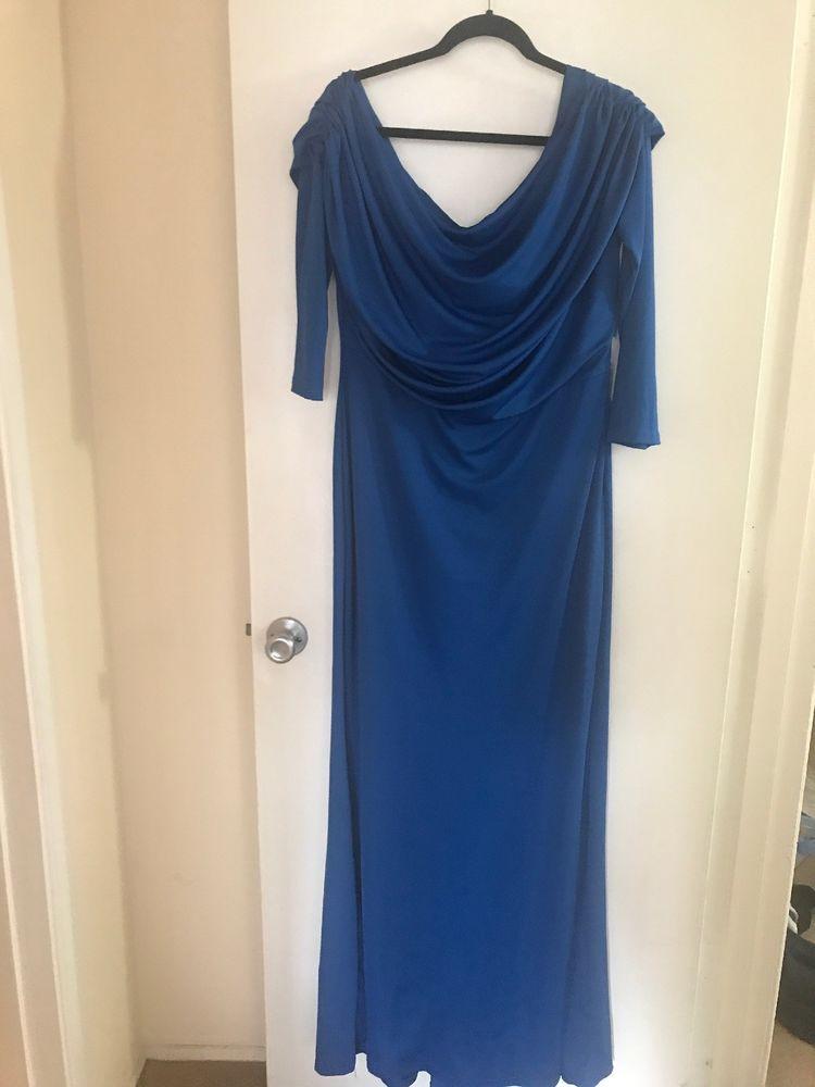 74ed10dba50 NEW Rosewe Skew Neck Draped Long Sleeve Mermaid Dress (Size  XL)  fashion   clothing  shoes  accessories  womensclothing  dresses (ebay link)