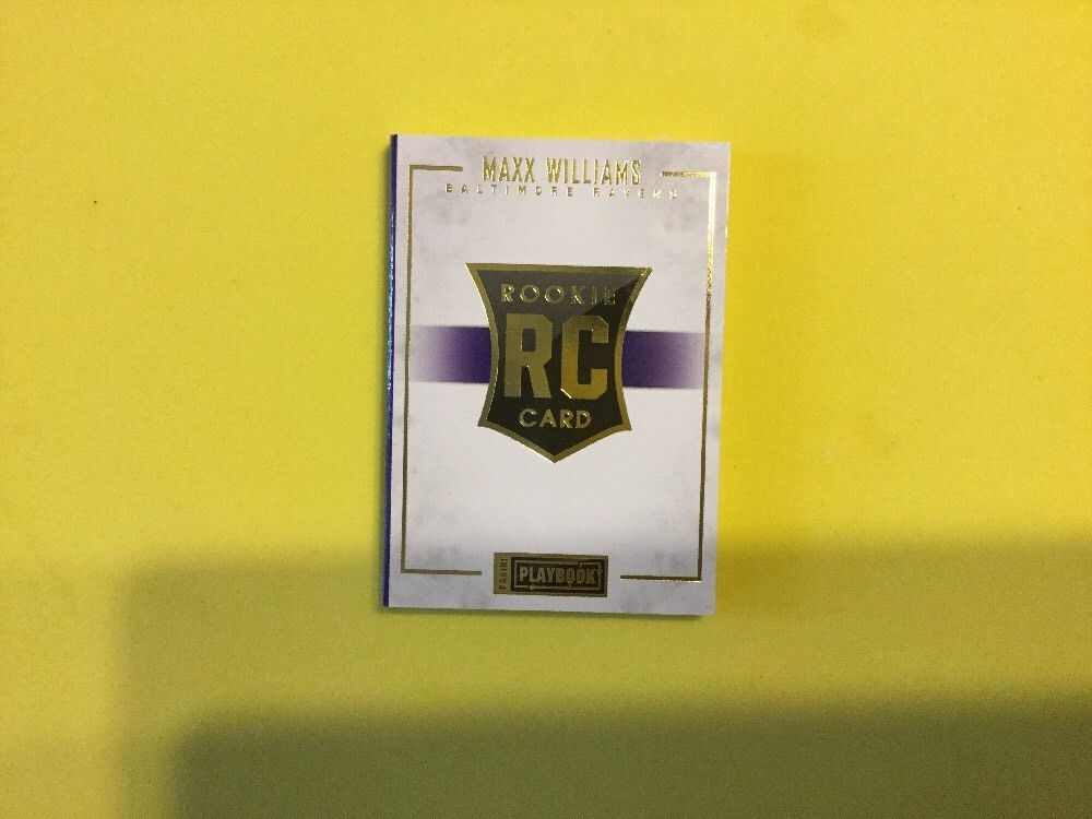 2015 panini playbook maxx williams 1999 gold rpa gold