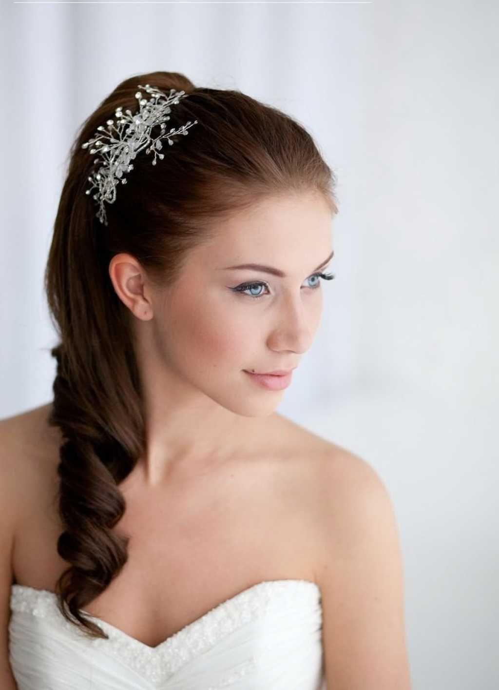 bridal ponytail hairstyle :: one1lady :: #hair #hairs