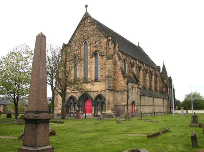 Govan Parish Scotland.Amazing inside.