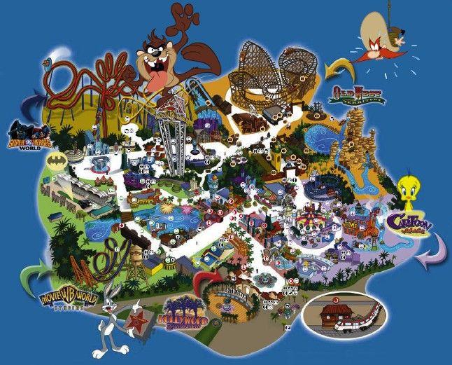 Parque Warner Bros Madrid Espa A Mejores Parques De