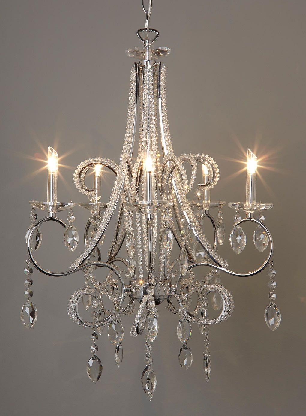 Beaded Chandelier Ceiling Lights