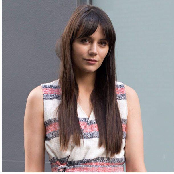Frisuren Lange Haare Mit Pony Frisuren 2018 Pinterest New Hair