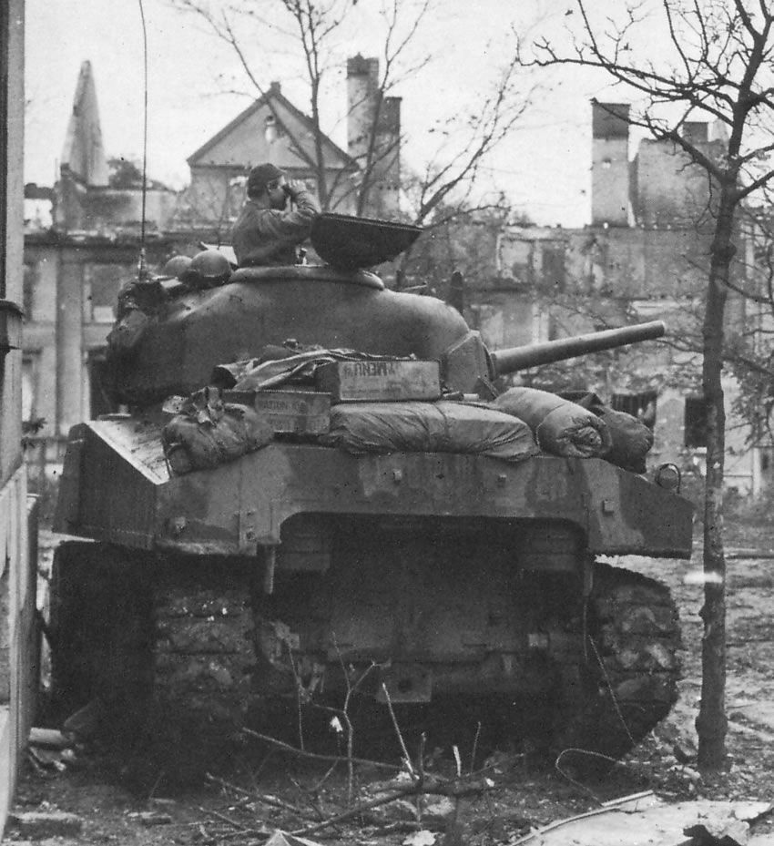 M4 Sherman, Belgium 1944