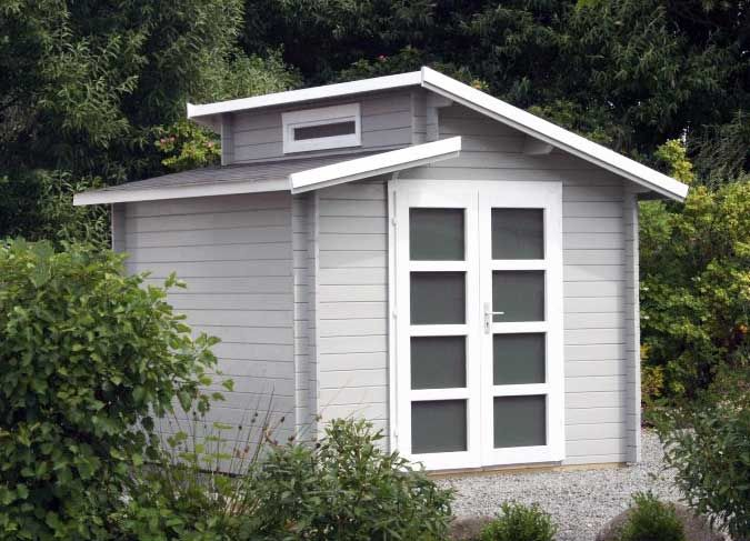 Auch Ein Geratehaus Darf Gut Aussehen Inspirationen Fur Sie Gartenhaus Gartenhaus Holz Anbau Gartenhaus