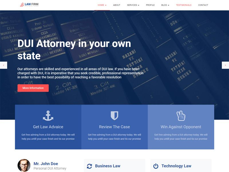 Html Template Code | Lawfirm Lawyer Free Html Template Is A Highly Customized Code