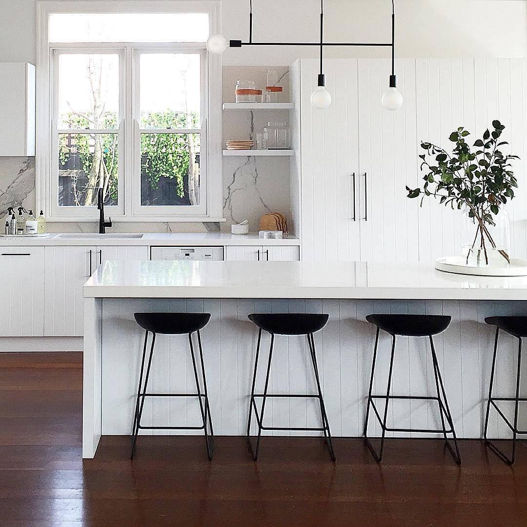 Black Kitchen Fixtures: This Striking Kitchen Design By @littlelibertyrooms