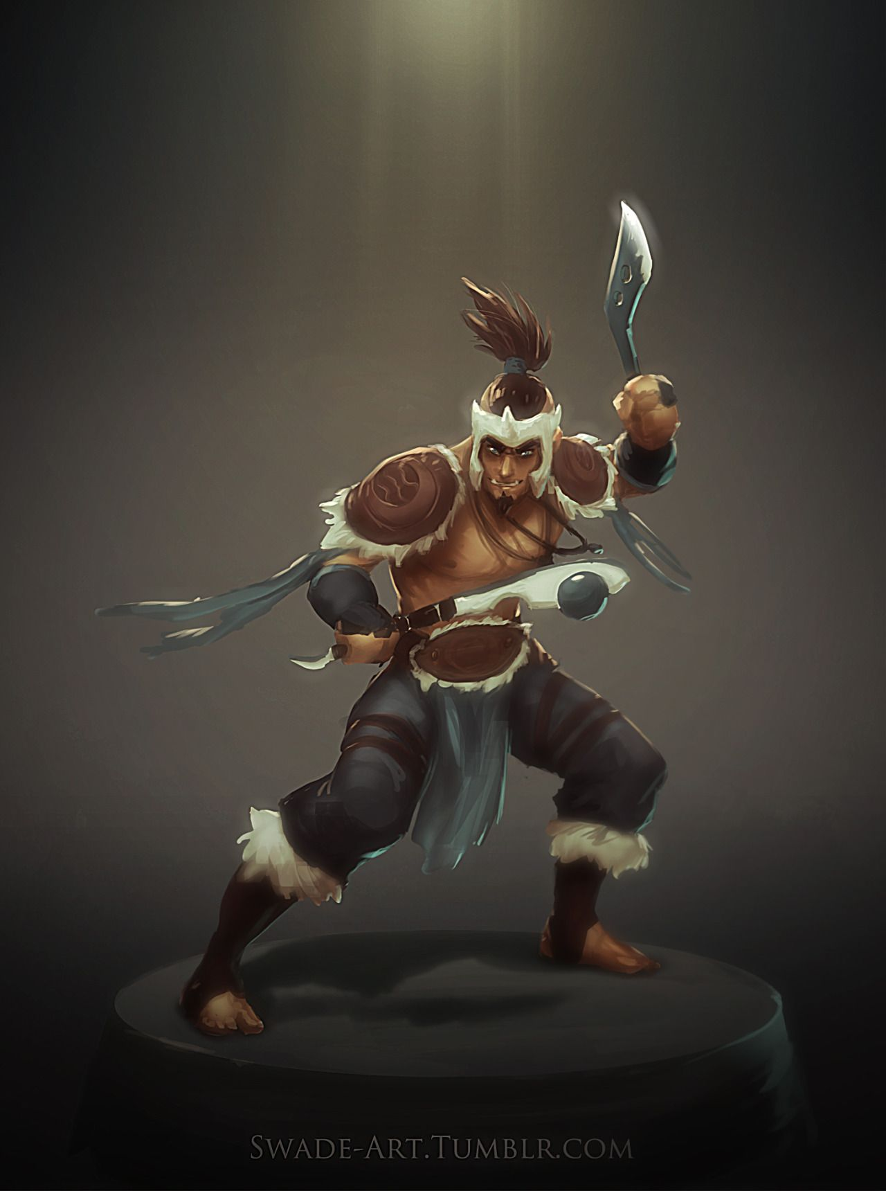 troll warlord sokka dota 2 avatar by swade art swade art tumblr