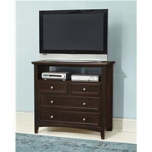 vaughan bassett bonanza media unit 4 drawers wayside furniture rh pinterest co uk Bedroom TV Stand Bedroom TV Stand