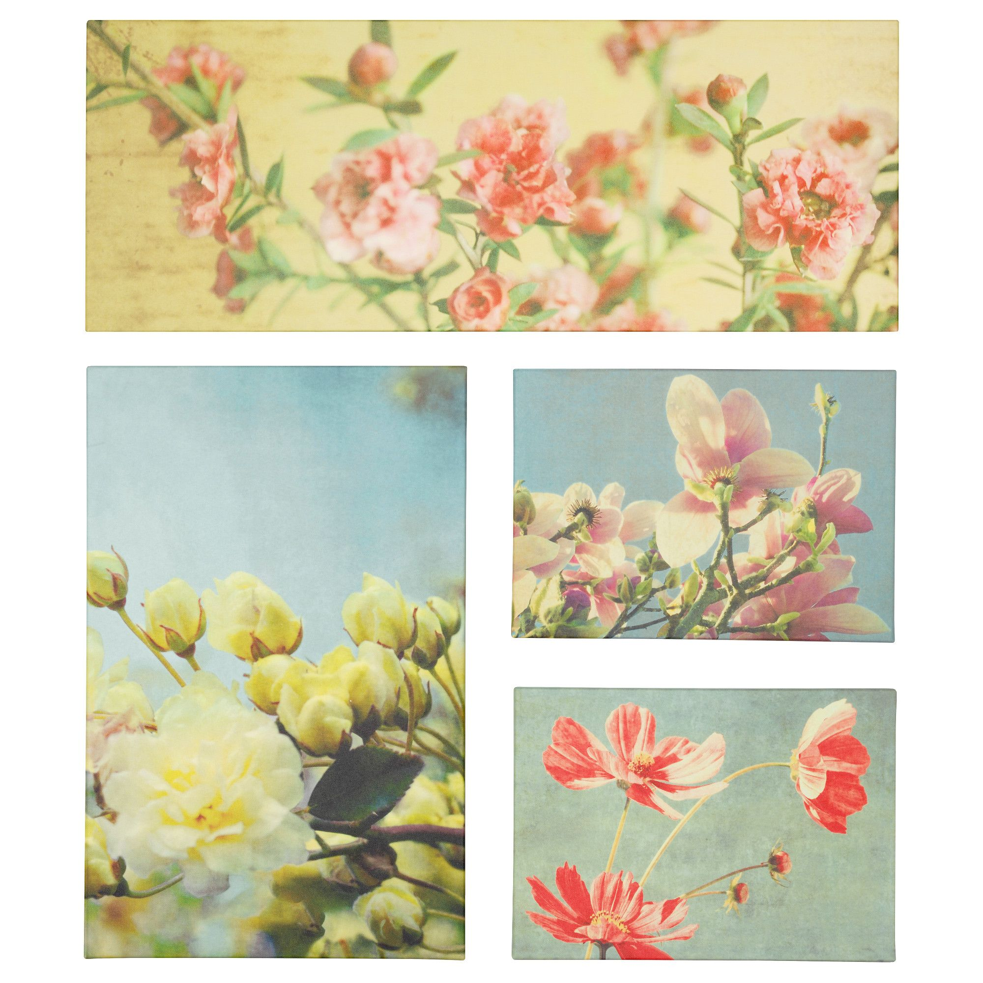 IKEA - GRÖNBY, Picture, set of 4, Motif created by Lupen Grainne.The ...