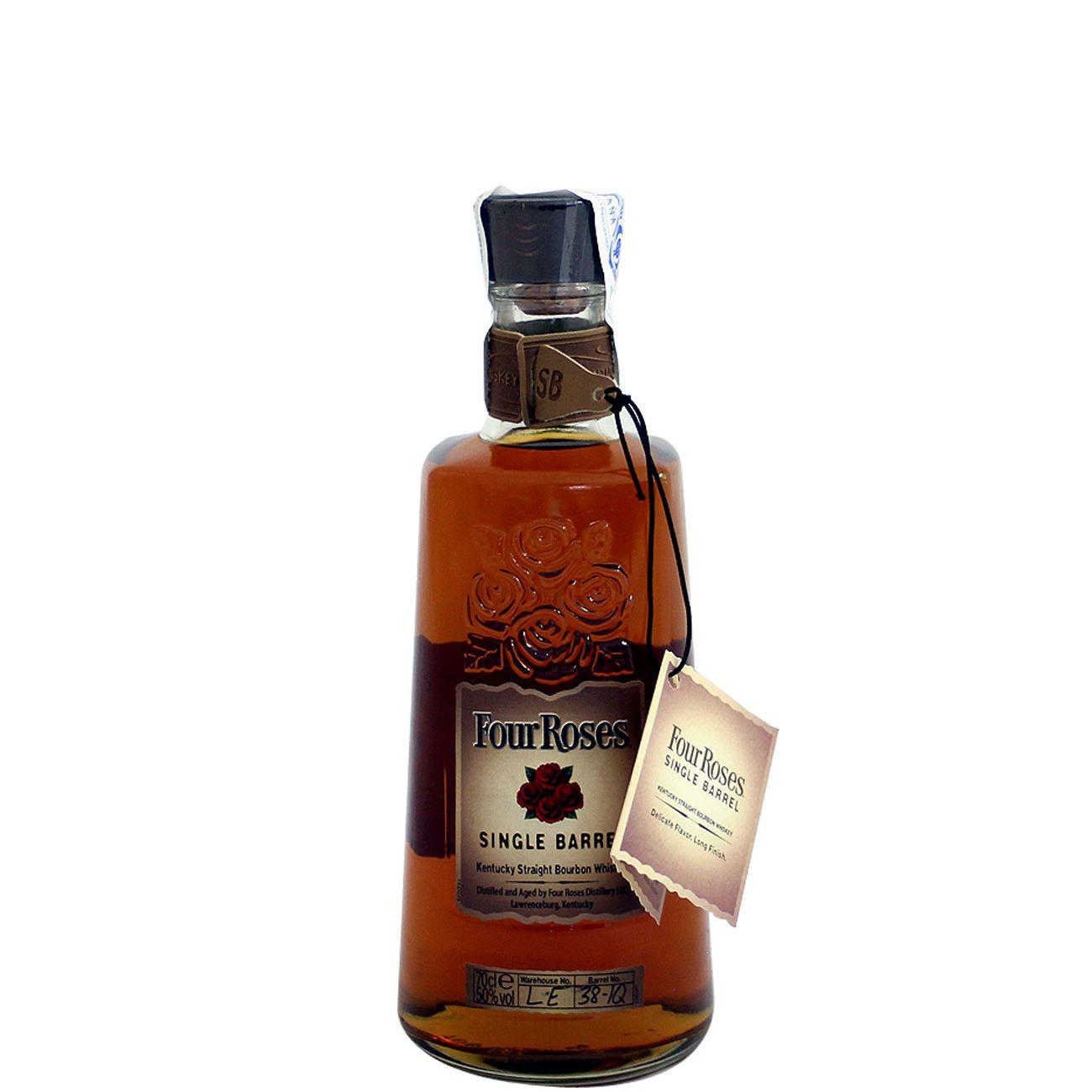 Whisky Four Roses Single Barrel 70 Cl 50 Whisky Gin Tonic Vodka