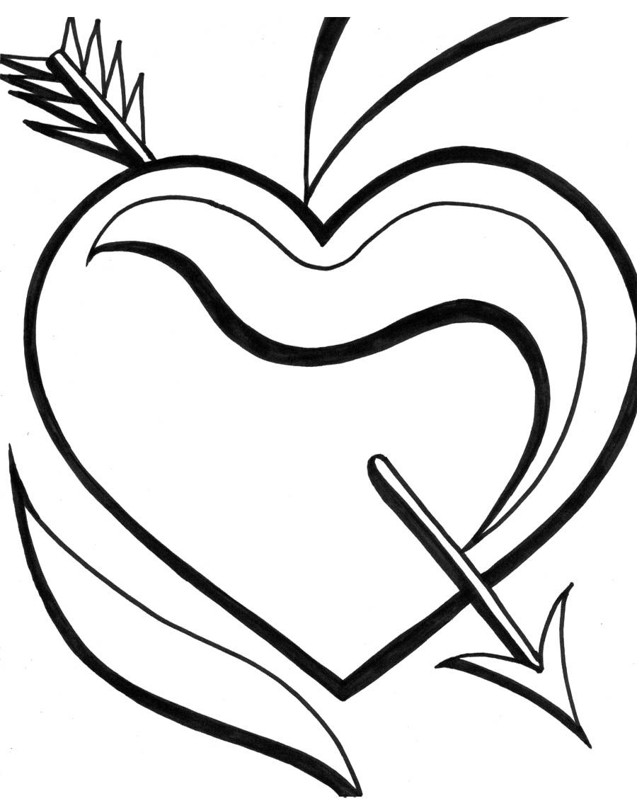 Valentine\'s Day Coloring Pages For Adults | Kids Coloring Pages ...