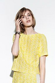 Daisy Jacquard Top Veronika Maine | Summer dresses