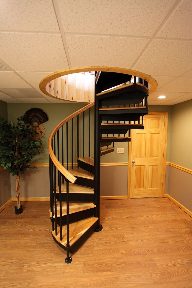 Captivating Interior Elegant Spiral Staircase To Indoor Home Balcony Design Perfect  White Ceiling Balcony Balcony Wood Flooring Single Indoor Plants Decor  Spiral ...