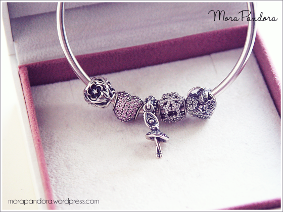 pandora ballerina necklace