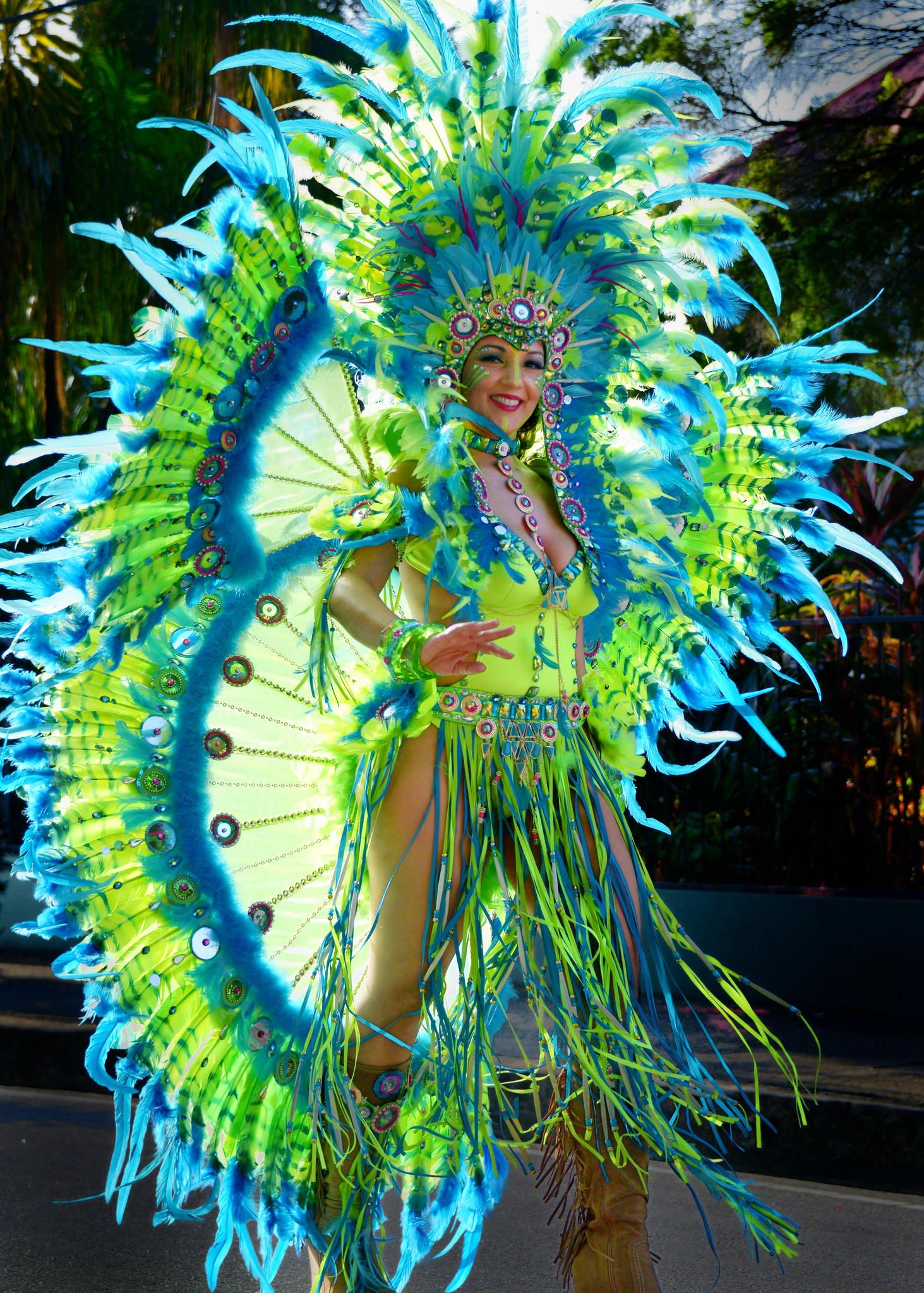 Sun Dancer - Trinidads Carnival Brings The Islands Most -4123