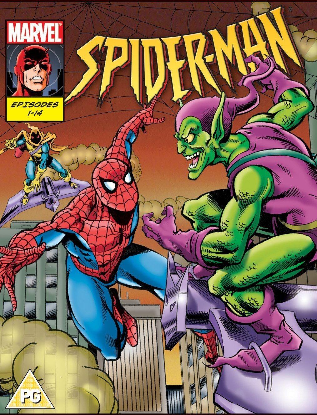 Spider Man Animated Series 1994 Spider Man Animated Series Spiderman Animation Series